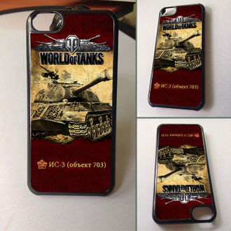 Чехол для iPhone 6 / 5 / 4 (World of Tanks)