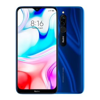 Смартфон Xiaomi Redmi 8 3/32GB blue Global version