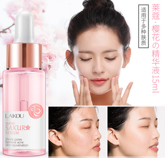 Cыворотка для лица с японской сакурой Laikou Japan Sakura Serum