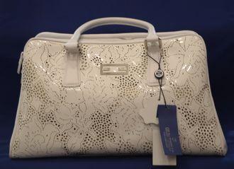 ce0b0e7e87c9 Белая сумка Италия из натуральной кожи Gilda Tonelli купить