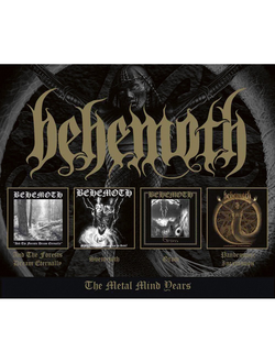 BEHEMOTH Metal Mind years 4-CD BOX