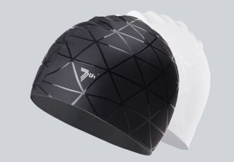 Шапочка для плавания Xiaomi Frosted silicone swimming cap черная