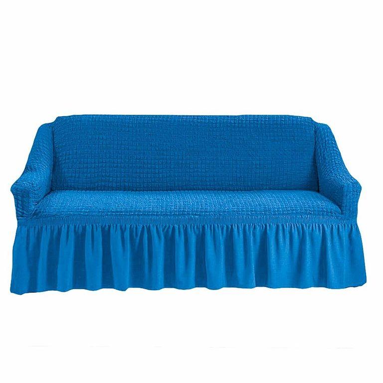 Чехол на диван, Лазурный 226