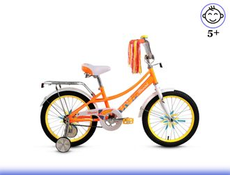 "FORWARD AZURE 18"" (оранжевый) Kiddy-Bikes"