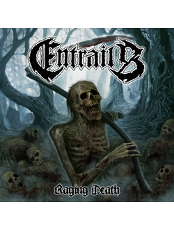 Entrails - Raging Death LP