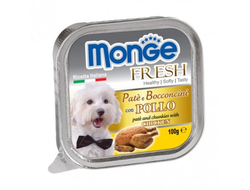 Консервы для собак MONGE DOG FRESH , курица - 100 грамм