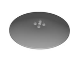 Dish 10 x 10 Inverted (Radar) - Solid Studs, Light Bluish Gray (50990b / 4248833)