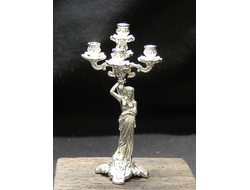 Fireplace candlestick on 5 candles
