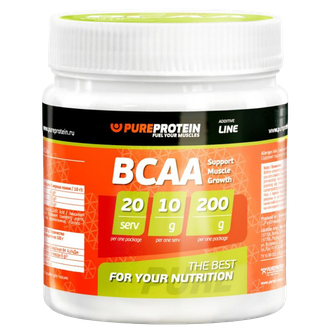 BCAA Pure Protein 200 г.