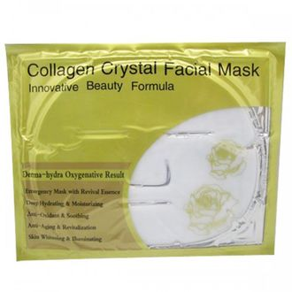 "Коллагеновая маска для лица с молоком ""Collagen Crystal Facial Mask"" от Belov"