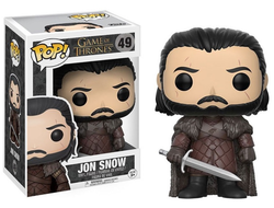 Фигурка Фанко Поп Джон Сноу Игра Престолов - Jon Snow (49) - FUNKO POP