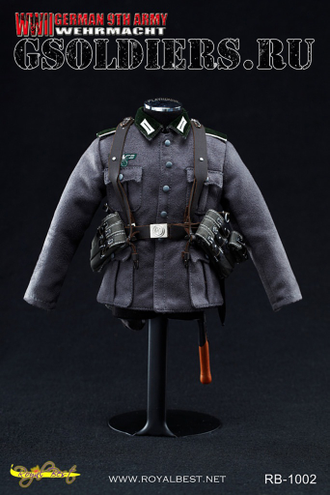 Коллекционная фигурка 1/6 WW2 German 9th Army WEHRMACHT RB-1002 - Royal Best