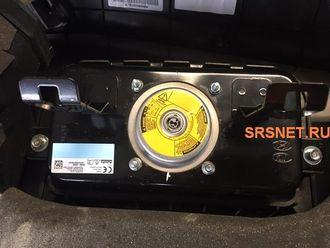 Восстановление подушки безопасности пассажира Solaris с 2017г