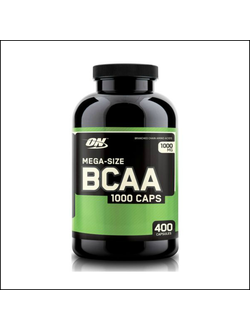 ВСАА Optimum Nutrition BCAA 1000 Caps 400 capsules