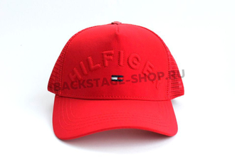 Бейсболка Tommy Hilfiger Red сетка