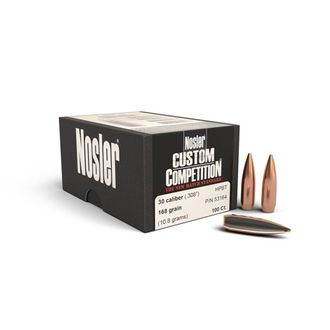 30 Caliber 168gr HPBT Custom Competition® Bullet (100ct)