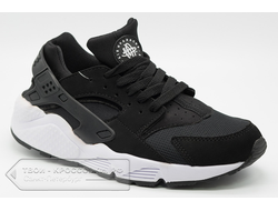 Nike Air Huarache Run Black-White (35-44) арт. F131