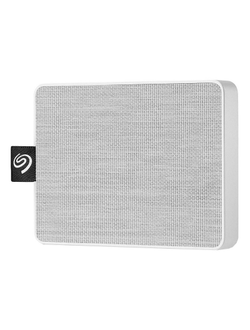 Портативный SSD Seagate One Touch 500Gb 2.5, USB 3.0, белый, STJE500402