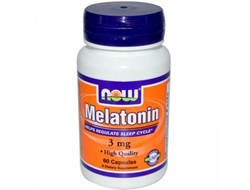 (Now) Melatonin 3 мг - (60 капс)