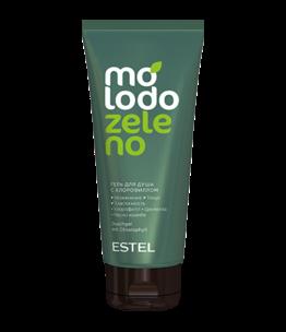 Гель для душа с хлорофиллом MOLODO ZELENO 200 мл