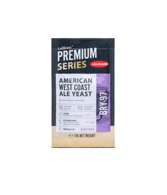 "Дрожжи пивные ""Lallemand"" American West Coast Ale BRY-97, 11 гр"