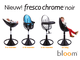 Стульчик Bloom Fresco Chrome Mercury (белый)