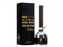 Аромадиффузор с палочками  - Bad Boys Are No Good But Good Boys Are No Fun  100 ml
