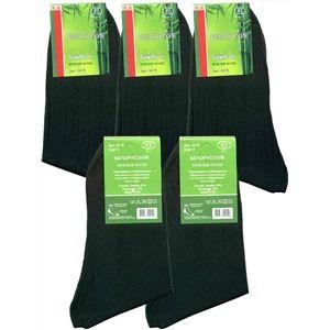Беларусь носки мужские М-9 бамбук с лайкрой черные, 10 пар (1 упаковка)