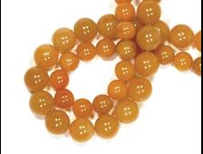 Бусина Авантюрин оранжевый, шар 8 мм (1 шт) №14807