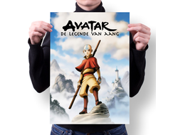 Плакат Аватар: Легенда об Аанге / Avatar: The Last Airbender №3