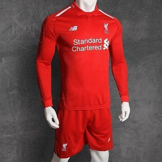 Футбольная форма New Balance Liverpool 18/19 XL Красный (397604547)
