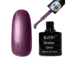 Гель лак Shellac BLUESKY 40543 VEXED VIOLETTE 10ml