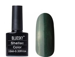 Гель лак Shellac BLUESKY 40574 SERENE GREEN 10ml