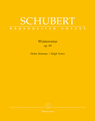 Schubert Winterreise op. 89 D 911 (High Voice)
