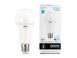 Gauss Elementary LED A67 30w 830/840/865 E27