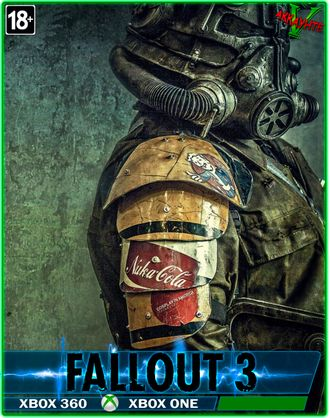 FALLOUT 3(ЦИФРОВОЙ КОД)(XBOX 360)(XBOX ONE)