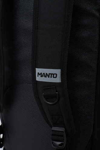 Купить Рюкзак-сумка MANTO sports bag / backpack DEFEND XL black в черном цвете для тренировки