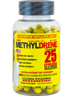 ЖИРОСЖИГАТЕЛЬ CLOMA PHARMA METHYLDRENE EPH 100 cap