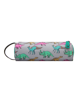 Пенал Mi Pac Pencil Case Dinosaurs Grey Multy