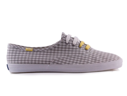Кеды Keds Champion Grey/White/Gingham
