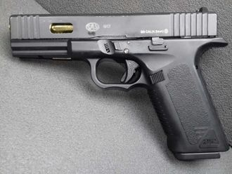 ПНЕВМАТИЧЕСКИЙ ПИСТОЛЕТ SAS G17 (GLOCK 17) BLOWBACK https://namushke.nethouse.ua/products/sas-g17