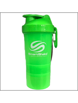 ШЕЙКЕР SMART SHAKE ORIGINAL2GO 600ML green
