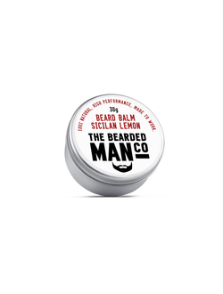 Бальзам для бороды The Bearded Man Company, Sicilian Lemon (Сицилийский лимон), 30 гр