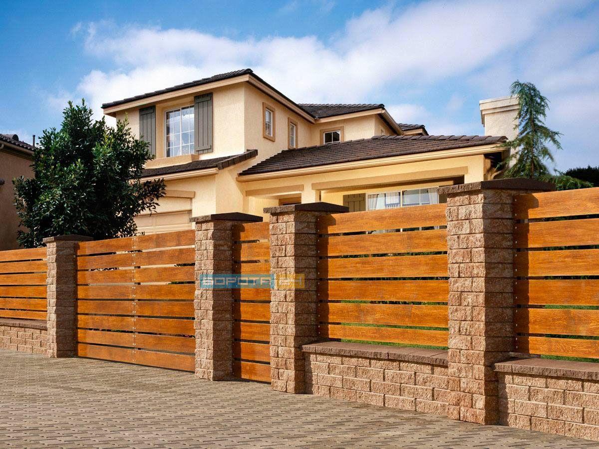 деревянные заборы - ворота под заказ - профессиональная установка