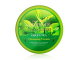 Крем для лица и тела с экстрактом зеленого чая Deoproce Natural Skin Greentea Nourishing Cream