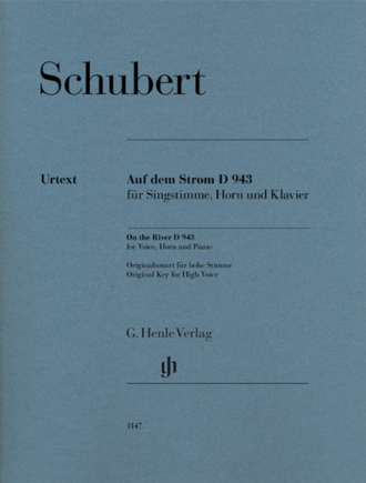 Schubert: On the River D 943 for Voice, Horn and Piano