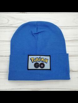 Шапка для мальчика (Артикул 3028) цвет синий