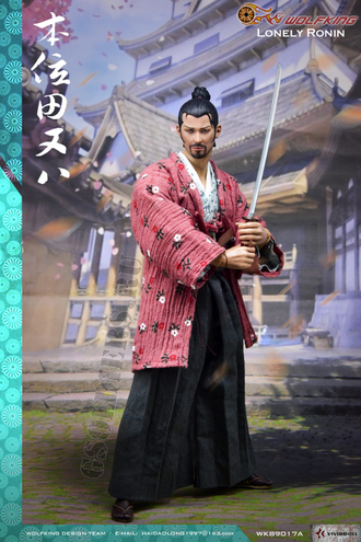 КОЛЛЕКЦИОННАЯ ФИГУРКА 1/6 scale Action figure Tian Ba Samurai (WK89017A) - WOLFKING