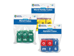Soft Foam Phonics Cubes Set