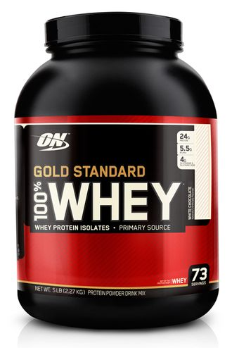 (ON) 100% Whey Gold Standard - (2,3 кг) - (клубника-банан)